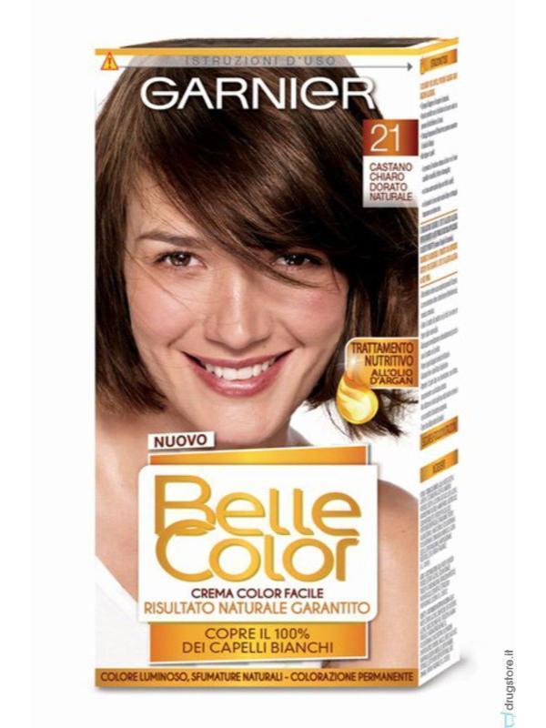 Belle Color Shcastano Chiaro Dorato N21