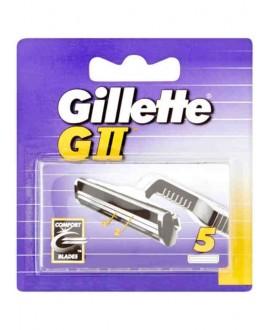 GILLETTE CARICATORI G II X 5