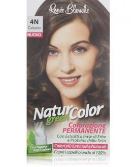 NATUR COLOR GREEN SH.CASTANO N.4N