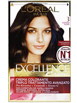 EXCELLENCE SH.CASTANO SCURO N.3