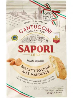 SAPORI CANTUCCINI MANDORLA GR.250