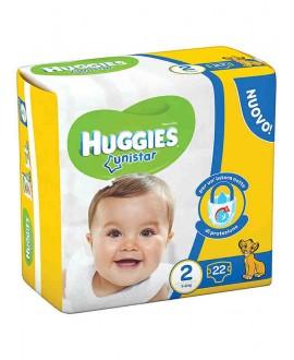 HUGGIES UNI MINI N°2 3-6 X22