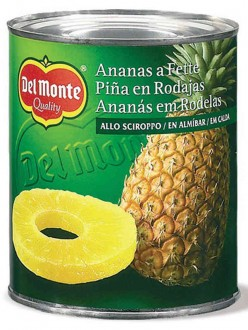 DEL MONTE ANANAS SCIROPPO GR.836