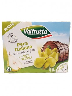 VALFRUTTA SUCCHI PERA ML.200X3