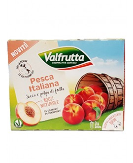 VALFRUTTA SUCCHI PESCA ML.200X3