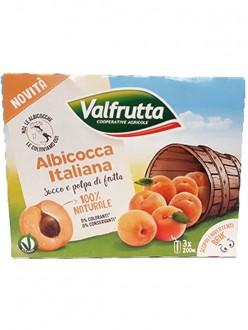VALFRUTTA SUCCHI ALBICOCCA ML.200X3
