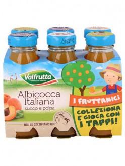 VALFRUTTA SUCCHI ALBICOCCA ML125X6