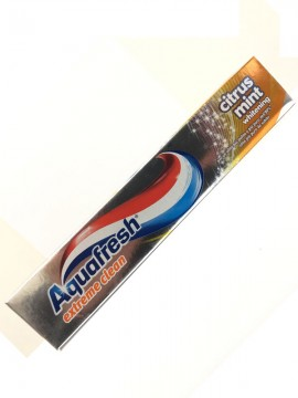 AQUAFRESH DENTIFRICIO EXTR. CLEAN CITRUS MINT 75M