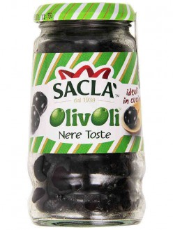 SACLA' OLIVE NERE OLIVOLI' TOSTE GR200