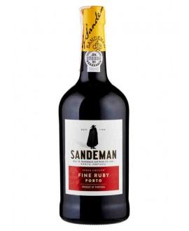 PORTO SANDEMAN RUBY CL.75