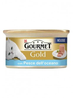 GOURMET GOLD MOUSSE PESCE GR85