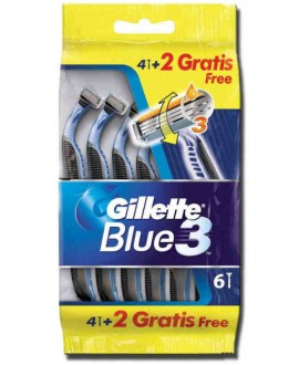 GILLETTE BLUE 3 PZ.4+2
