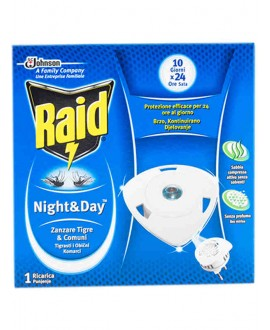 RAID NIGHT&DAY RICARICA