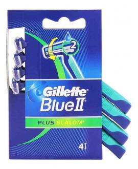 GILLETTE RASOI SLALOM BLUE II X4
