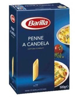 BARILLA N.77 PENNE A CANDELA GR.500