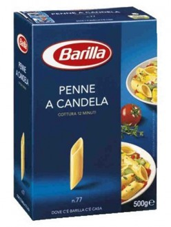 BARILLA N.77 PENNE A CAND.GR.500