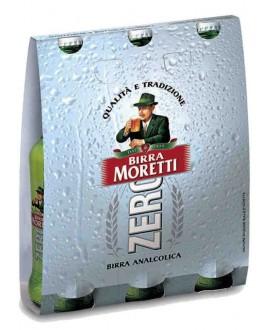 MORETTI BIRRA ZERO CL.33X3
