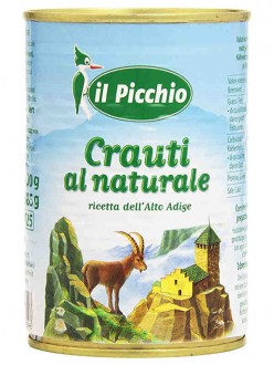 IL PICCHIO CRAUTI AL NATURALE GR.400