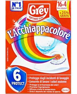 L' ACCHIAPPACOLORE GREY 16+4 FOGLI