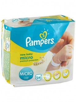 PAMPERS PANN.NEW BABY MICRO X24