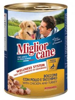 MIGLIOR CANE BOCC.POLLO/TACCH.GR.400