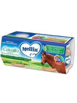 MELLIN OMOGENEIZZATI CAVALLO C/PATATE GR.80X2