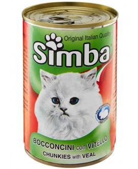 SIMBA CANE BOCCONCINI CON VITELLO 415G