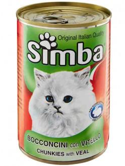 SIMBA GATTO BOCCONCINI VITELLO GR415