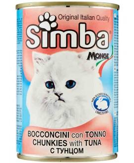 SIMBA CANE BOCCONCINI CON TONNO 415G