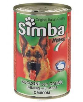 SIMBA CANE BOCCONI CON CARNE 415G