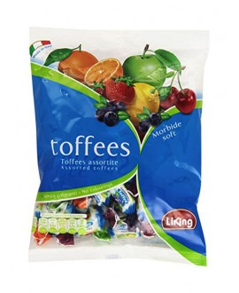 LIKING CARAMELLE TOFFEES ASSORT.GR.250