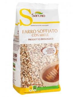 SARCHIO FARRO SOFFIATO C/MIELE GR.200