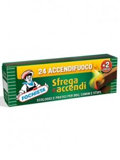 FOCHISTA ACCENDIFUOCO ECOLOGICO PZ.24