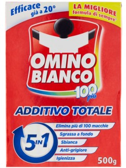 OMINO BIANCO ADDITIVO 100 PIÃ' GR.500