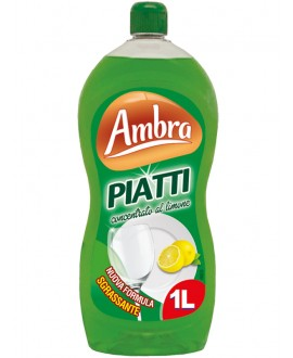 AMBRA PIATTI LIMONE LT.1