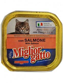 MIGLIOR GATTO VASCH.SALMONE GR.100