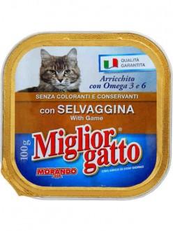 MIGLIOR GATTO VASCH.SELVAGGINA GR.100