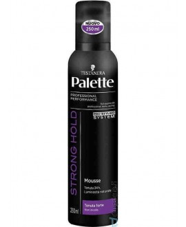 PALETTE MOUSSE PER CAPELLI FORTE ML,250