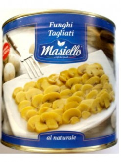 MASIELLO FUNGHI TAGLIATI AL NATURALE GR.425