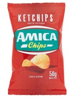 AMICA CHIPS PATAT.KETCHIPS GR.50
