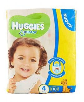 HUGGIES UNISTAR N.4 PZ.20 7-18 MAXI