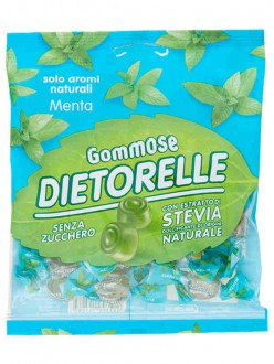 DIETORELLE CARAMELLE GOMMOSE MENTA BS.GR.70
