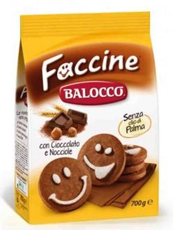 BALOCCO BISCOTTI LE ALLEGRE FACCINE GR700
