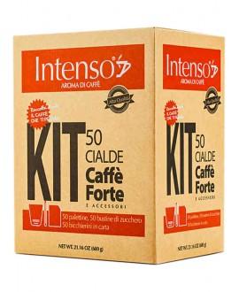 INTENSO CAFFÈ FORTE KIT 50PZ COMPLETO