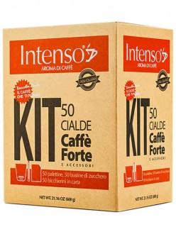 INTENSO CAFFE' FORTE KIT 50PZ COMPLETO