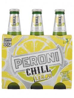 PERONI BIRRA CHILL LEMON CL.33X3