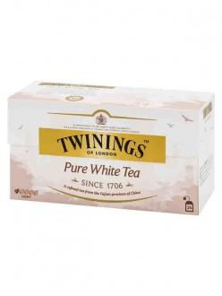 TWINING PURE WHITE TEA 25 FF