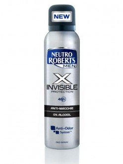 ROBERTS DEOD.SPRAY MEN X INVISIBLE ML.150