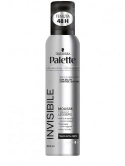 PALETTE MOUSSE PER CAPELLI INVISIBLE ML.250