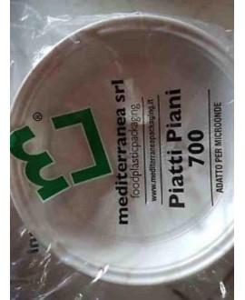NIGI PIATTI PIANI EXTRARIGIDI MICROONDE CIRCA 25P